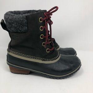 Sorel slimpack lace duck boots 6.5 (#013)
